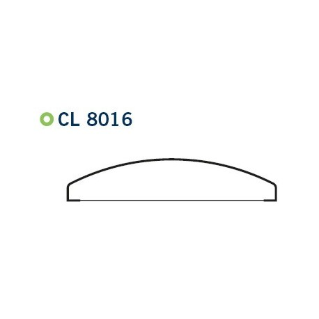 UNIARTE Molduras - Curva CL8016